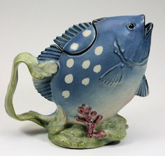 blue fish #teapot added by #CardeApp