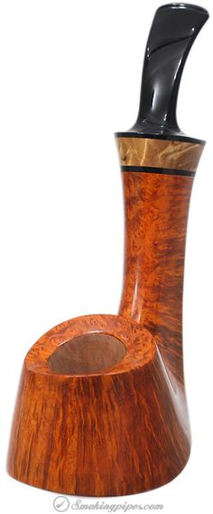 Kent Rasmussen Smooth Volcano with Mazur (Two Star) Pipes at Smoking Pipes .com