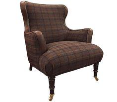 Tetrad Harris Tweed Nairn Chair