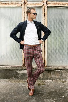 32 Best Checkered Trousers Images In 2019 90s Fashion Casual