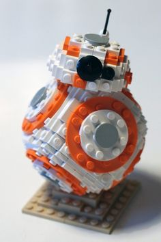 Como hacer un BB-8 de Lego