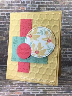 LOVE this great stamp set from the Sale-a-Bration catalog 2017!  #stampinbj.com
