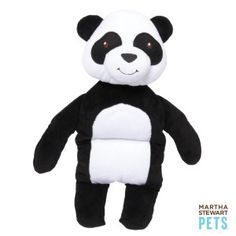 Panda squeaker toy