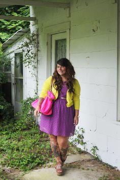 fat girl. dress pretty.
