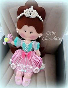 Wool Dolls, Felt Dolls, Baby Dolls, Diy And Crafts, Arts And Crafts, Baby Mobile, Christmas Makes, Flower Fairies, Clothes Crafts