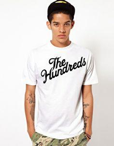 The Hundreds Forever Slant T-shirt in White