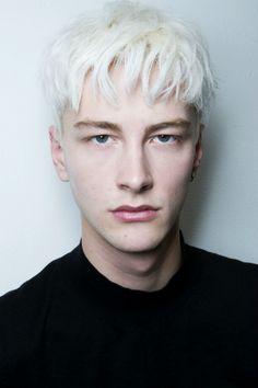 l-homme-que-je-suis: homme—models: Benjamin Jarvis | Duckie Brown Fall/Winter 2014, Backstage.