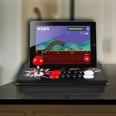 Ion iCade Core Arcade Game Controller for iPad (ICG05) Authentic, full-sized controls for a genuine arcade experience on newest iPad. High-quality cradle for iPad, designed for a safe, secure fit