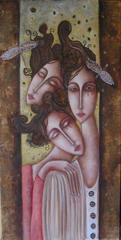 Painter Ingrid Tusell Domingo