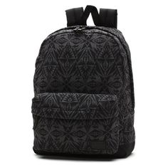 Deana Backpack ($45) ❤ liked on Polyvore featuring bags, backpacks, strap backpack, strap bag, vans backpack, backpacks bags and vans bag
