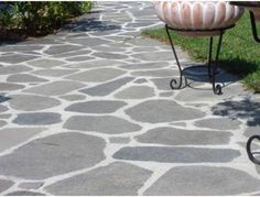 Slate Stone, Outdoor Flooring, Pergola, House, Yard Ideas, Terrace, Floors, Home Decor, Balcony