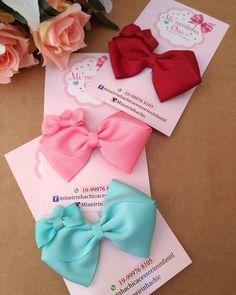 Ribbon Hair Clips, Ribbon Hair Bows, Diy Hair Bows, Ribbon Crafts, Flower Crafts, Boutique Hair Bows, Making Hair Bows, Hair Beads, Girls Hair Accessories
