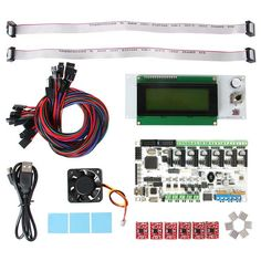 Geeetech Rumba board +cooler fan +LCD 2004 controller display +jumper wire ect Rumba control board kits for reprap 3D printer