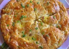 Закусочный пирог с плавленным сыром