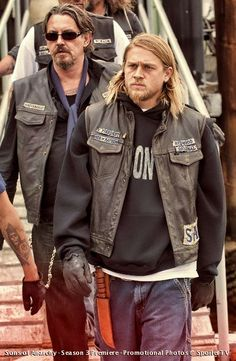 Tommy Flanagan and Charlie Hunnam...I love these guys, I love this show, it's my new guilty pleasure!