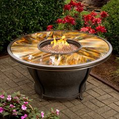 Shop this oakland living moonlight aluminum 48 round gas firepit table with tempered glass top from our top selling Oakland Living fire pit tables. PatioLiving is your premier online showroom for patio tables and high-end outdoor furniture. Fire Pit Bowl, Gas Fire Pit Table, Fire Pit Seating, Seating Areas, Fire Bowls, Round Fire Pit Table, Small Fire Pit, Diy Fire Pit, Fire Pit Backyard