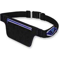 Running Waist Bag Belt-Best Waterproof Waist Belt For Cell Phone Keeping Your Phone Dry-Fanny Pouch Waistband Case–Reflective, Adjustable Sport Fitness Belt with Small  #RunningWaistPacks