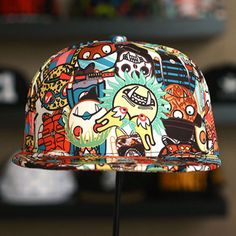40499946f23 New Moster Snapback Men Women Bboy Hats Adjustable Korean Fashion Cap Style  S-66