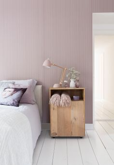 Pink wallpaper Intenz - BN Wallcoverings