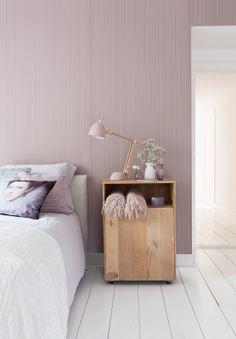 Pink wallpaper/behang Intenz - BN Wallcoverings