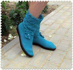 Flip Flop Sandals, Flip Flops, Shoes Sandals, Crochet Shoes, Knit Crochet, Slipper Boots, Pearl White, Wedding Shoes, Boho Fashion