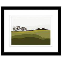 Buy Jacky Al Samarraie - Cows At Lochans, Framed Print, 44 x 54cm Online at johnlewis.com