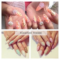Pronails Brussels bleached nails style