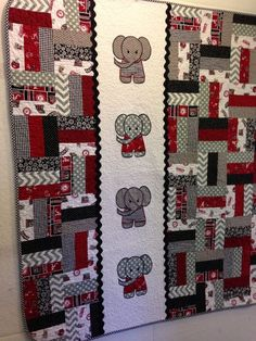Best 12 Elephant baby quilt from www. – Page Best 12 Elephant baby quilt from www. – Page 318066792429308024 – SkillOfKing. Quilt Baby, Colchas Quilt, Baby Quilt Patterns, Children's Quilts, Amish Quilts, Cotton Quilts, Cute Quilts, Small Quilts, Patchwork Quilting