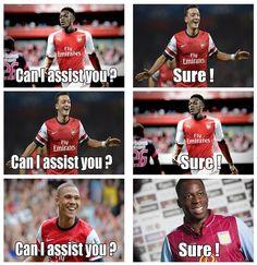 Aston Villa - Arsenal (0-3)