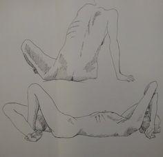 Modele vivant (2) by matama15