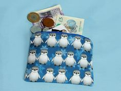 Your place to buy and sell all things handmade Cute Baby Penguin, Baby Penguins, Penguin Drawing, Coin Purses, Change Purse, Blue Christmas, Everyday Bag, Uk Shop, Purse Wallet