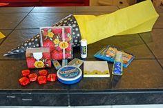 first day of school teacher gift - a schultute (school cone)  http://en.wikipedia.org/wiki/Schultute