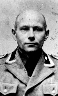 Borkowski Max, a Gestapo officer who served in Bydgoszcz. This evil man was responsible, among other things, for the shooting of around 300 Jews.