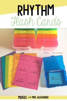 Music with Mrs. Alexander on Teachers Pay Teachers: Rhythm flash cards. Great for small groups! Multiple levels available. Teaching Style, Teaching Music, Teaching Tools, Teaching Resources, Piano Lessons, Music Lessons, Music Worksheets, Music Activities, Elementary Music