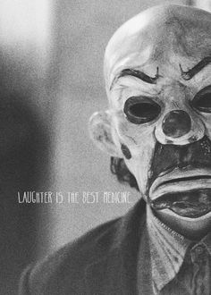 "The Joker ""Laughter is the best medicine"" Joker Heath, Joker Art, Joker Batman, Kings & Queens, Heath Ledger Joker, Joker Wallpapers, Batman Universe, Joker Quotes, Joker And Harley Quinn"