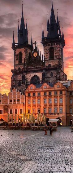 Iglesia Nuestra Señora de Tym, Praga