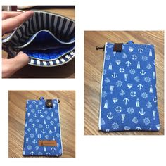 Sailing Zipper pouch