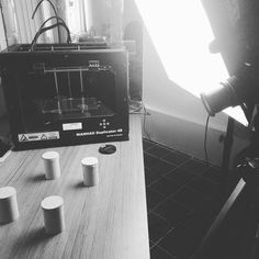 #filming #work #thought3D #magigoo  #in #action #3dprinting by mark25gundam
