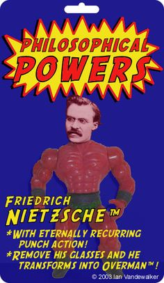 "Philosophical Powers - ""Nefarious"" Nietzsche #ationfigures"