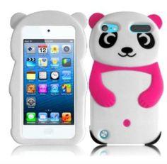 My new pink panda bear iPod 5 case!