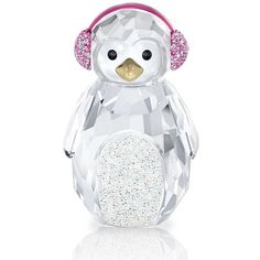 Swarovski Rocking Penguin found on Polyvore featuring polyvore, women's fashion, accessories, tech accessories, christmas, other and no color