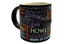 Banned Books Mug- Yup. Huckleberry Finn STILL gets banned, so does 1984, To Kill A Mockingbird, Harry Potterr  #bannedbooks #bannedbooksweek #freedomtoread