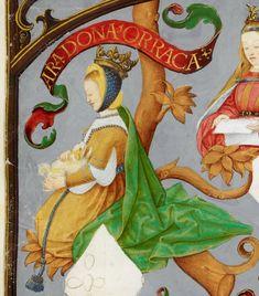 Rainha consorte D. Urraca de Castela do Rei de Portugal D:AFONSO II.