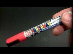 White Uni Posca Paint Marker Chalkpens Glass Pen Fabric Arts /& Craft Signwriters