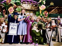 Judy Garland (pictured in the Wizard of Oz) was one of Hollywood's most revered movie stars