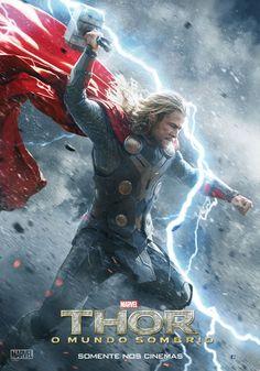 """""""Thor: O Mundo Sombrio"""" ganha novos cartazes nacionais http://cinemabh.com/imagens/thor-o-mundo-sombrio-ganha-novos-cartazes-nacionais"""