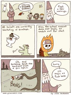 Wizard schools are dangerous y'all!