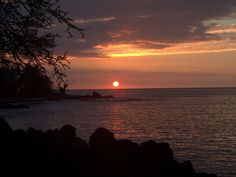 Sunset at Kealakekua Bay Kealakekua Bay, Bali House, Hawaii, Celestial, Sunset, Outdoor, Outdoors, Sunsets, Outdoor Games
