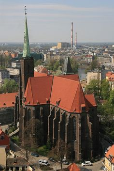 Wroclaw, Poland. Sang IN this church :)