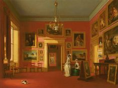 Robert Huskisson - Lord Northwick's Picture Gallery at Thirlestaine House